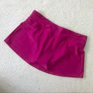 • athleta • nwot fuchsia tennis skirt